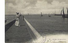 Calais,entrée Du Port - Calais