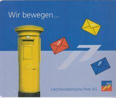 Liechtenstein Mouse Mat - Liechtensteinische Post - Postbox - Obj. 'Remember Of'