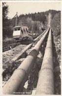 SWITZERLAND-SCHWEIZ-SUISSE-SVIZZERA-PIORA-FUNICOLARE DEL RITOM-CARTOLINA  VERA FOTO VIAGGIATA IL 23-7-1959 - TI Tessin