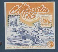 CNEP-1985-N°6** MASSILIA.Salon Philathélique De MARSEILLE - CNEP