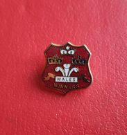 Badge Wales Winners. - Rugby