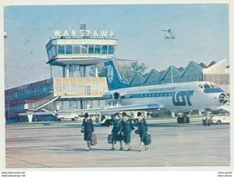 AK  Warszawa Tupolev 134 Jet Airliner - Aérodromes