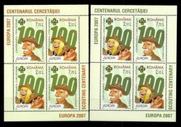 Romania 2007: Europa - Scouting ** MNH - 2007