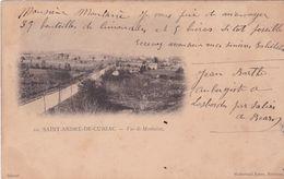 33-Saint-André-de-Cubzac Vue De Montalon - Francia