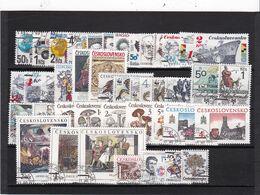 Tschechoslowakei, Kpl. Jahrgang 1989, Gest. (K 6422) - Czechoslovakia