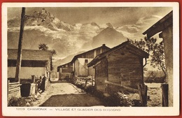 74- Haute-Montagne- CHAMONIX- Village Et Glacier Des BOSSONS- Collection Les Deux Savoies 12103 - Scans Recto Verso - Chamonix-Mont-Blanc