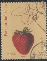 FRANCE 2011 ISSU DU BLOC FETE DU TIMBRE FRAISIER OBLITERE - YT 4535 - Used Stamps