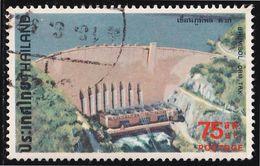 Thailand Stamp 1978 Dams 75 Satang - Used - Thaïlande