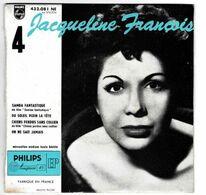 EP 45 TOURS JACQUELINE FRANCOIS BO SAMBA FANTASTIQUE PHILIPS 432081 En 1956 BIEM - Musica Di Film