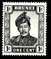 BRUNEI 84* 1c Noir Sultan Omar Ali Saïfuddin - Brunei (1984-...)