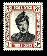 BRUNEI 86* 3c Brun Sultan Omar Ali Saïfuddin - Brunei (1984-...)
