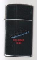 ZIPPO - U.S.S. BIDDLE CG-34 - Slim - Chromé, Année 1991 (jamais Servi)  SB - 04 - Zippo