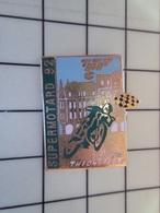 1720 Pin's Pins / Beau Et Rare / THEME : MOTOS / SUPERMOTARD 92 THIONVILLE - Motorräder