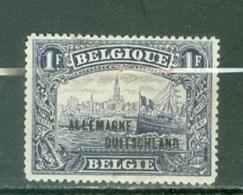 Belgique  OC 51A   *  TB   2ieme  Tirage - WW I