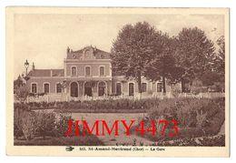 CPA - St-AMAND-MONTROND 18 Cher - La Gare - N° 513 - Edit. La Mouette - Saint-Amand-Montrond