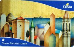 Italy Costa Key Card - Hotel Keycards