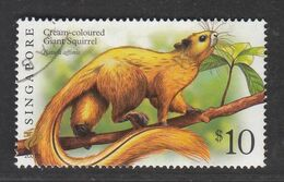 "Singapore, 2007 Definitive Stamp Series, $10 Giant Squirrel ""2007B"", Fine Used - Singapur (1959-...)"