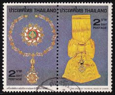 Thailand Stamp 1979 Royal Decorations (1st Series) 2 Baht In Pair - Used - Tailandia