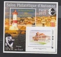 CNEP-2015-N°70** ST PIERRE ET MIQUELON .Salon Philathélique De PARIS - CNEP