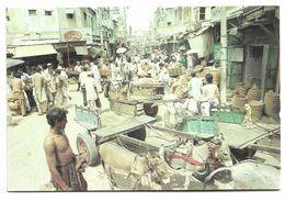 PAKISTAN POSTCARD , VIEW CARD JODIA BAZAAR KARACHI - Pakistan