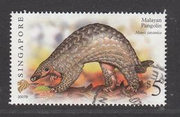 "Singapore, 2007 Definitive Stamp Series, $5 Malayan Pangolin ""2007B"", Fine Used - Singapur (1959-...)"