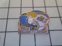1720 Pin's Pins / Beau Et Rare / THEME : FRANCE TELECOM / BOULOGNE BILLANCOURT CINEMA PELLICULE Par FRAISSE - France Telecom