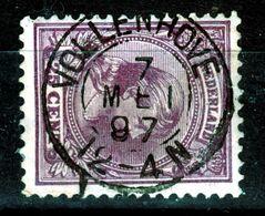 "WILHELMINA  25c KLEINROND ""VOLLENHOVE"" - Used Stamps"