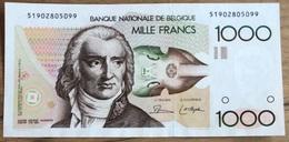 1000 Francs Gretry Dasin - De Strycker!! Eerste Handtekening!! UNC!! 5099 - [ 2] 1831-... : Royaume De Belgique