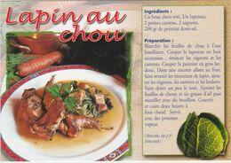 RECETTE DE CUISINE Lapin Au Chou - Küchenrezepte