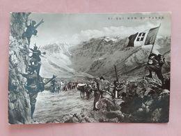 Cartolina Patriottica Viaggiata Nel 1941 + Spese Postali - Patriotic
