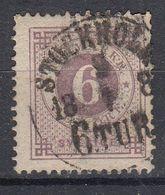 ZWEDEN - Michel - 1872 - Nr 20B (T/D 13 : 13 1/2) - Gest/Obl/Us - Oblitérés
