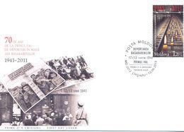 2011. Moldova, 70y Of First Deportation In 1941, FDC, Mint/** - Moldavia