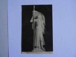 CPA  28  La Bienheureuse Jeanne D'Arc De A. Bourdelle Eglise De BONNEVAL     19..  TBE - Beroemde Vrouwen