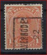 ALBERT I Nr. 135 Voorafgestempeld Nr. 2763 A  AVERBODE 22   ; Staat Zie Scan ! Inzet Aan 1,5 € ! - Rolstempels 1920-29