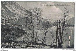BELLUNO  DINTORNI:  LAGO  DI  S. CROCE  -  FP - Châteaux D'eau & éoliennes