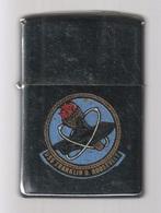 ZIPPO - U.S.S. FRANKLIN D. ROOSEVELT - Chromé, Année 1971 - SB - 08 - Zippo
