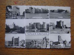 Angleterre - England - SUSSEX Castles (Lewes-Herstmonceux-Camber-Arundel-Bodiam-Ypres Rye-Battle Abbey-Hastings-Pevensey - Non Classés