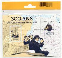 TIMBRES     300 ANS D HYDROGRAPHIE FRANCAISE - Blocs & Feuillets