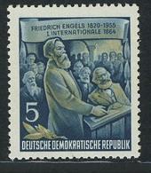 485A YII Friedrich Engels 5 Pf Wz.2 YII ** - Unclassified