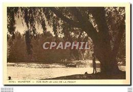 CPA Munster Vue Sur Le Lac De La Fecht - Alsace