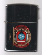 ZIPPO - U.S.S. TENNESSEE - VOLUNTEERS  SSBN-734 - Chromé, Année 1990 - (jamais Servi) SB - 10 - Zippo