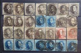 BELGIE  1849    Lotje  Medaillons   Zie Foto     Gestempeld - 1849-1850 Medallions (3/5)
