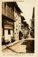 3814 - Savoie - CHAMOUX Sur GELON :  L'ETOILE DES ALPES -  LA RUE PRINCIPALE  -    Circulée En 1955     T.RARE - Chamoux Sur Gelon