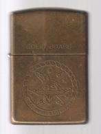 ZIPPO - U.S.S. DWIGHT D. EISENHOWER  69 - Solide Brass, Année 1991 -  SB - 11 - Zippo