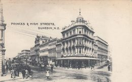 Dunedin - Princes & High Streets - New Zealand