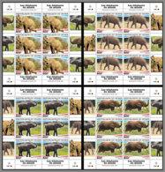 NIGER 2020 MNH Elephants Elefanten M/S - OFFICIAL ISSUE - DHQ2028 - Elefantes
