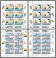 NIGER 2020 MNH Mahatma Gandhi Salt March Salzmarsch Marche Du Sel M/S - OFFICIAL ISSUE - DHQ2028 - Mahatma Gandhi