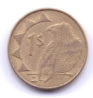 NAMIBIA 2008: 1 Dollar, KM 4 - Namibië
