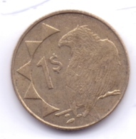 NAMIBIA 2006: 1 Dollar, KM 4 - Namibië