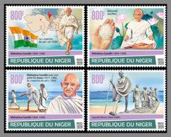 NIGER 2020 MNH Mahatma Gandhi Salt March Salzmarsch Marche Du Sel 4v - IMPERFORATED - DHQ2028 - Mahatma Gandhi
